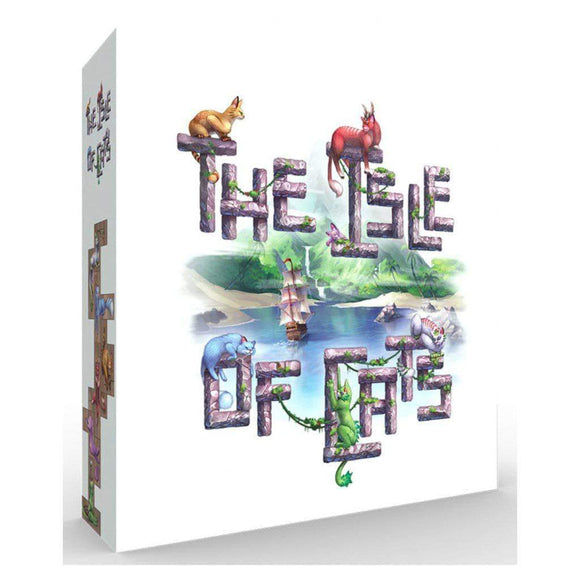 The Isle of Cats: Core Game plus 5 and 6 Player Expansion Bundle (Kickstarter Pre-Order Special) Board Game Geek, Kickstarter Games, Games, Kickstarter Board Games, Board Games, GaGa Games, The City of Games, The Isle of Cats, The Games Steward Kickstarter Edition Shop, Card Drafting GaGa Games