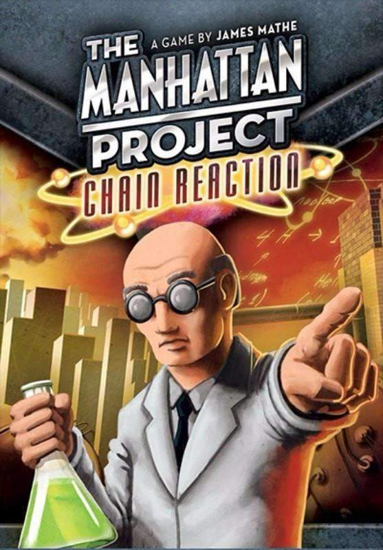 The Manhattan Project: Chain Reaction (Kickstarter Special) Kickstarter Board Game Czacha Games