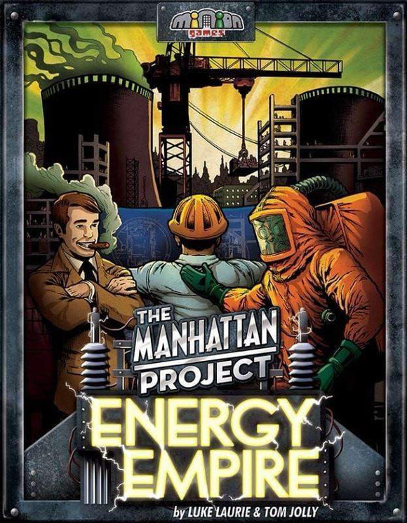 The Manhattan Project: Energy Empire board game (Kickstarter Special) Kickstarter Board Game Minion Games