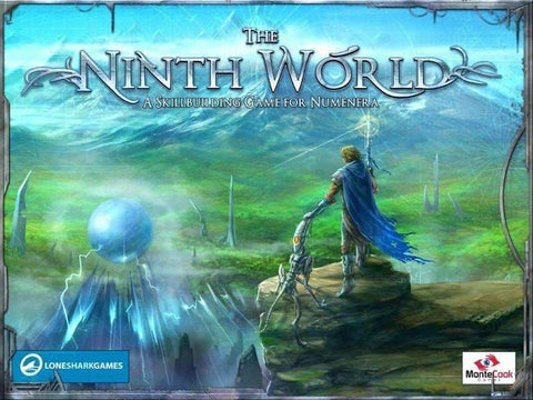 The Ninth World: A Skillbuilding Game for Numenera Ding & Dent (Retail Edition) Retail Card Game Lone Shark Games KS000186B