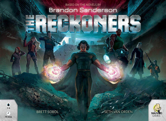 The Reckoners: Epic Edition Bundle (Kickstarter Pre-Order Special) Kickstarter Board Game Nauvoo Games KS001082A