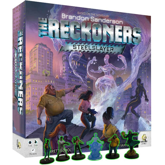 The Reckoners: Steelslayer Epic Edition with Prepainted Miniatures Upgrade Bundle (Kickstarter Pre-Order Special) Kickstarter Board Game Expansion Nauvoo Games KS001082B