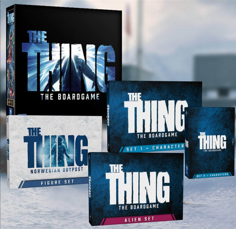 The Thing: The Boardgame Core Pledge Bundle (Kickstarter Pre-Order Special) Kickstarter Board Game Pendragon Game Studio KS001064A