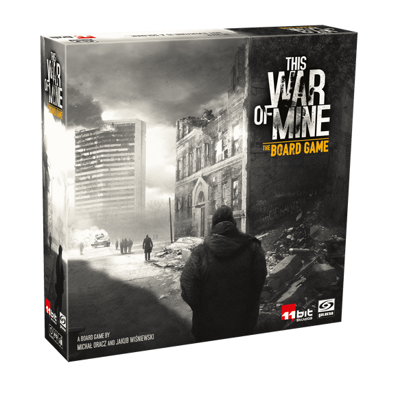This War of Mine: Incidents Expansion (Kickstarter Special) Kickstarter Board Game Expansion Awaken Realms