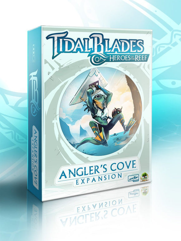 Tidal Blades: Heroes of the Reef Angler's Cove Expansion (Kickstarter Pre-Order Special) Board Game Expansion Druid City Games KS000856B