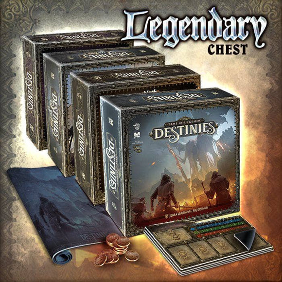 Time of Legends: Destinies Legendary Chest Pledge Bundle (Kickstarter Pre-Order Special) Kickstarter Board Game Lucky Duck Games KS000992A