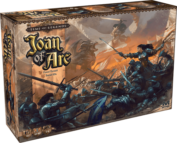 Time of Legends Joan of Arc: BONUS Expansion Bundle (Kickstarter Pre-Order Special) Kickstarter Board Game Mythic Games
