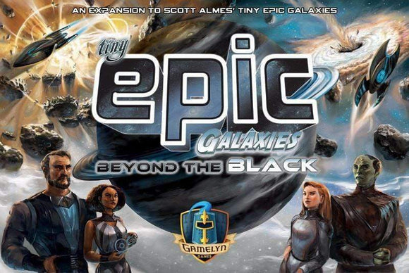 Tiny Epic Galaxies: Beyond the Black (Kickstarter Special) Kickstarter Board Game Gamelyn Games