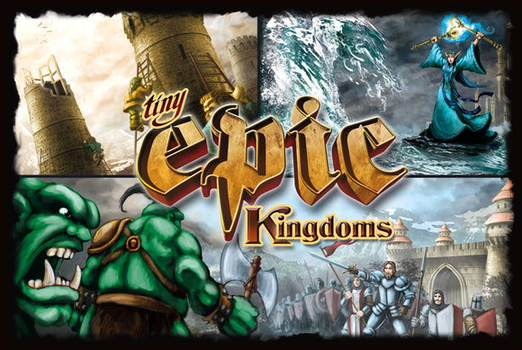 Tiny Epic Kingdoms 2nd Edition (Kickstarter Special) Kickstarter Board Game Gamelyn Games