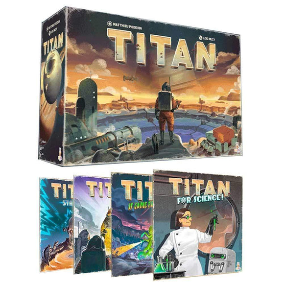 Titan: Foreman Pledge Bundle (Kickstarter Pre-Order Special) Kickstarter Board Game Holy Grail Games KS000993A