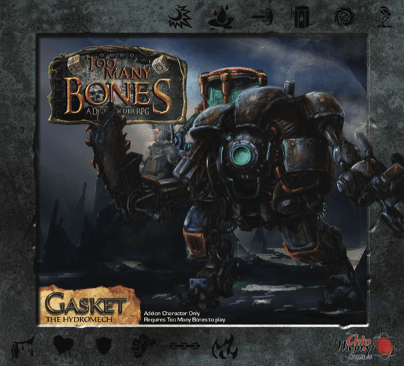 Too Many Bones: Gasket Pre-Order Board Game Geek, Games, Board Games, Kickstarter Board Games Expansions, Board Games Expansions, Chip Theory Games, Too Many Bones Gasket, Kickstarter Board Games, Cooperative Play, Deck Pool Building Chip Theory Games KS000143I