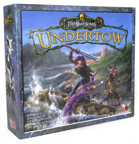 Too Many Bones: Undertow Retail Board Game Chip Theory Games 704725644074 KS000143B