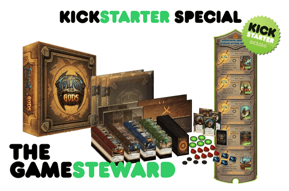 Twilight of the Gods (Kickstarter Special) Kickstarter Board Game Victory Point Games 0610585961704 KS000655