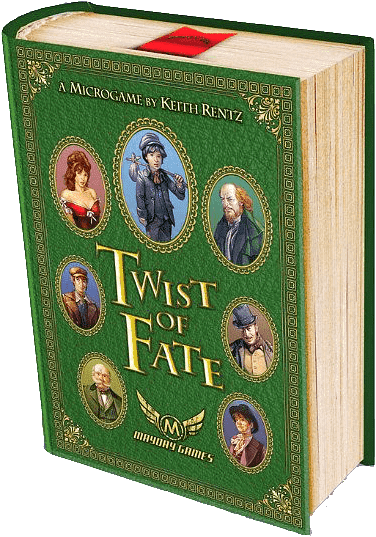 Twist Of Fate (Kickstarter Special) Kickstarter Board Game Mayday Games