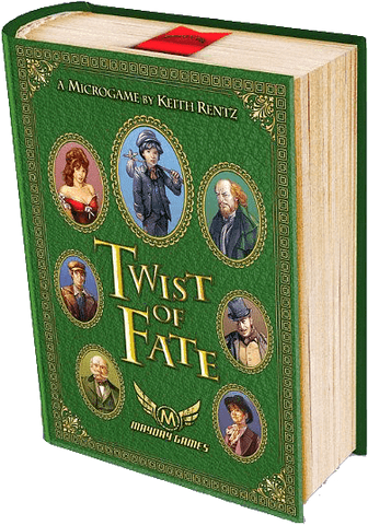 Twist Of Fate (Kickstarter Special) Kickstarter Board Game Mayday Games 0080162887084 KS000108