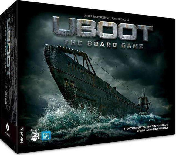 UBOOT All-in Board Game Bundle (Kickstarter Pre-Order Special) Kickstarter Board Game PHALANX PlayWay SA