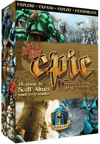 Ultra-Tiny Epic Kingdoms (Kickstarter Special) Kickstarter Board Game Gamelyn Games