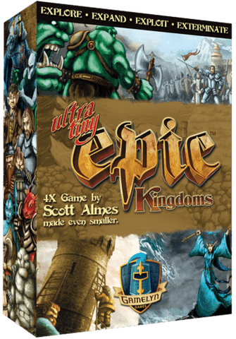 Ultra-Tiny Epic Kingdoms (Kickstarter Special) Kickstarter Board Game Gamelyn Games 0728028400038 KS000129