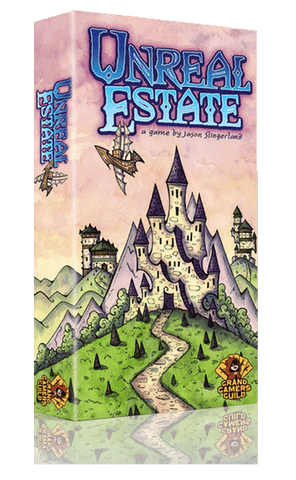 Unreal Estate (Kickstarter Special) Kickstarter Card Game Grand Gamers Guild 0705641246175 KS000270