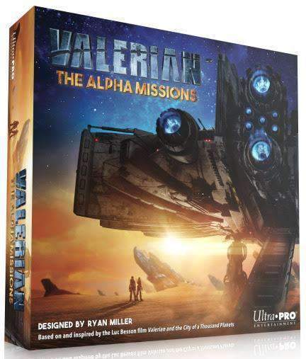 Valerian: The Alpha Missions Retail Board Game Ultra PRO