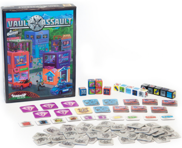 Vault Assault (Kickstarter Special) Kickstarter Board Game Inside Up Games