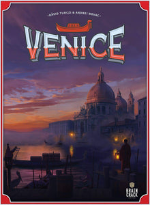 Venice Board Game Plus Metal Coin Set Bundle (Kickstarter Pre-Order Special) Kickstarter Board Game Braincrack Games, Fishbone Games KS001009A