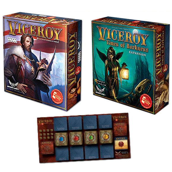 Viceroy: Times of Darkness Viceroy Pledge Bundle (Kickstarter Pre-Order Special) Kickstarter Board Game Expansion Hobby World