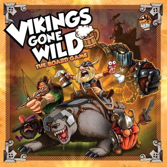 Vikings Gone Wild Board (Retail Edition) Kickstarter Board Game Corax Games