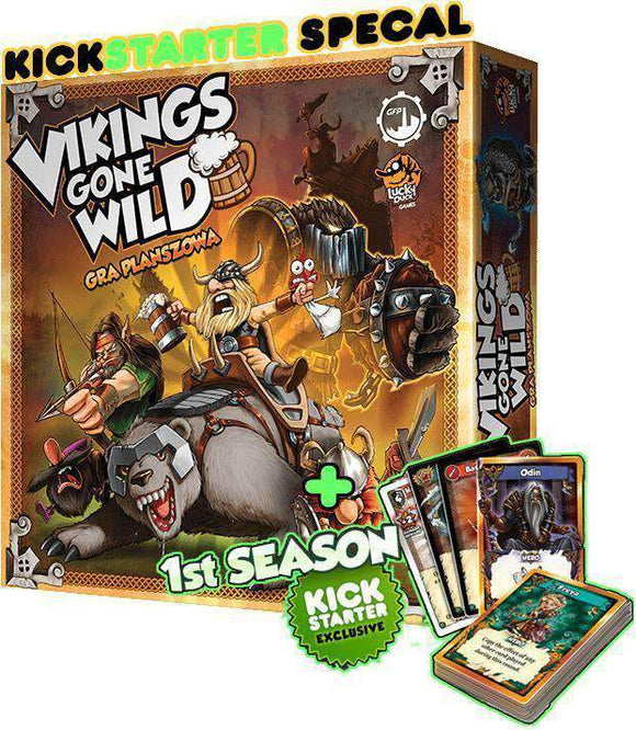 Vikings Gone Wild (Kickstarter Special) Kickstarter Board Game Corax Games