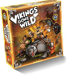 Vikings Gone Wild (Retail Edition) Retail Board Game Corax Games 0653341088840 KS000072G