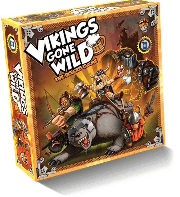 Vikings Gone Wild (Retail Edition) Kickstarter Board Game Corax Games