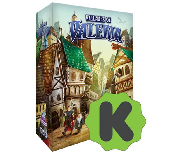 Villages of Valeria: Landmarks and Architects Big Box Edition (Kickstarter Special) Kickstarter Card Game Expansion Daily Magic Games
