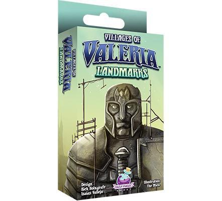 Villages of Valeria: Landmarks Plus Architects in Tuck Box Pledge (Kickstarter Special) Kickstarter Board Game Expansion Daily Magic Games KS000671A