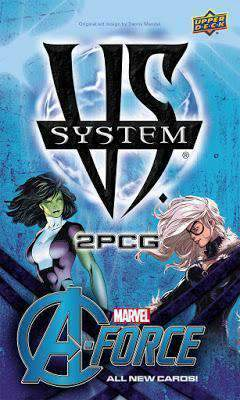 Vs System 2PCG: A-Force Retail Card Game Upper Deck Entertainment 0053334853729 KS000681