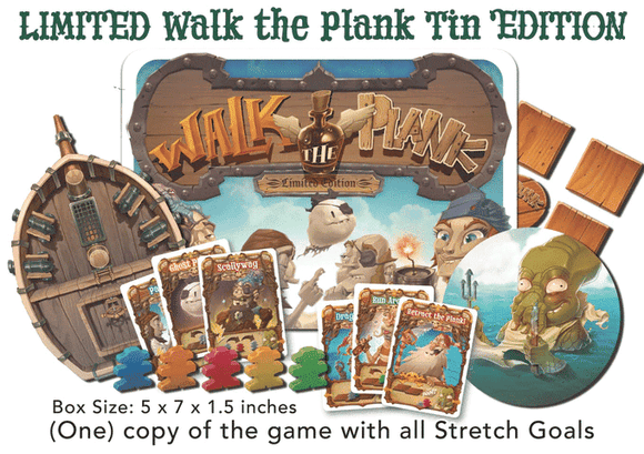 Walk the Plank! (Kickstarter Special) Kickstarter Card Game Mayday Games 0080162882072 KS000608