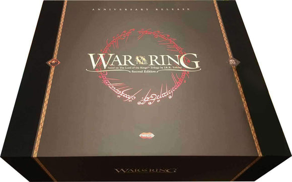 War of The Ring: Anniversary Edition (Production Set #105) Retail Board Game Ares Games 8054181512298 KS000763A