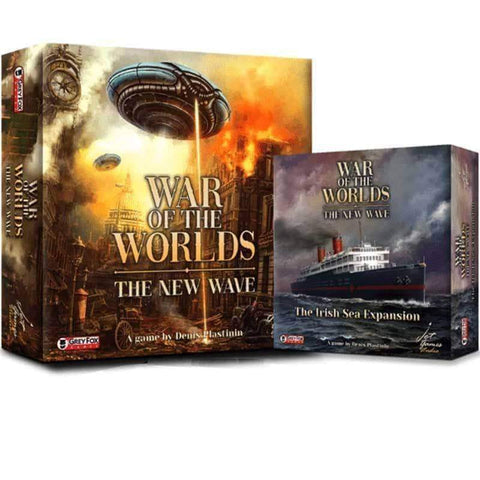 War of the Worlds The New Wave: Earth Defender Pledge (Kickstarter Special) Kickstarter Board Game Jet Games Studio 725272745502 KS000939A