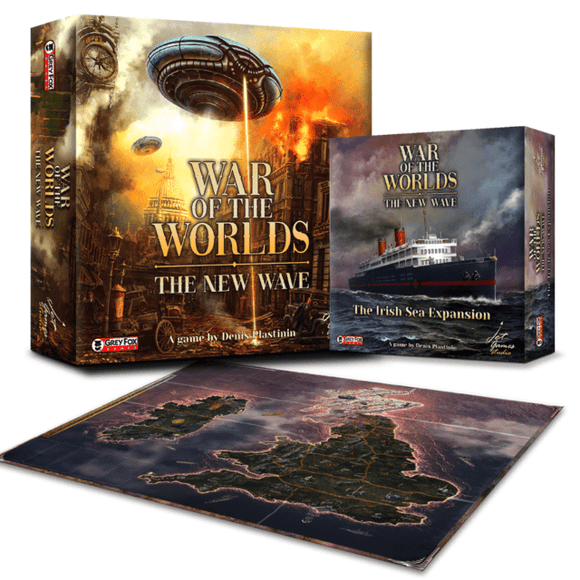 War of the Worlds The New Wave: Scorched Earth Pledge (Kickstarter Special) Kickstarter Board Game Jet Games Studio KS000940A