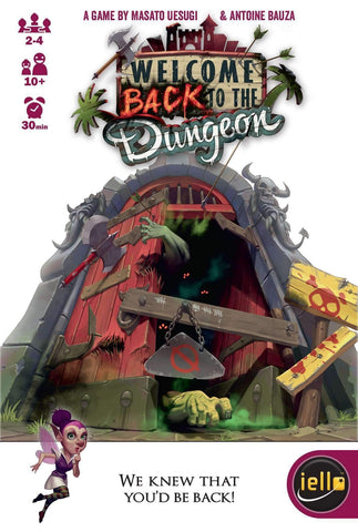 Welcome Back to the Dungeon Retail Card Game IELLO 3760175513053 KS000689