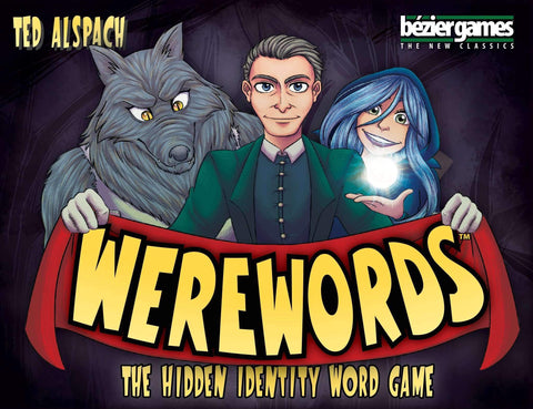 Werewords Retail Board Game Bezier Games Inc 0689070017370 KS000804