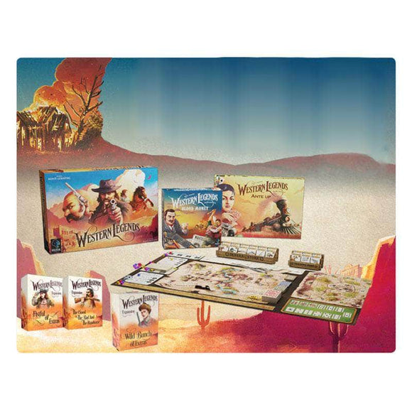 Western Legends: Complete Saga Pledge Bundle (Kickstarter Pre-Order Special) Kickstarter Board Game Kolossal Games KS000731C