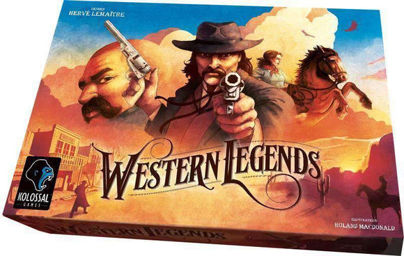 Western Legends: Legendary Pledge Bundle (Kickstarter Special) Kickstarter Board Game Kolossal Games KS000731A