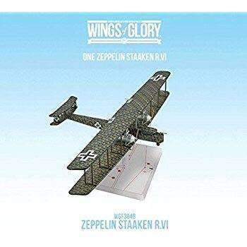 Wings of Glory: German Zepplin Staaken R.VI (Schoeller) Retail Miniatures Game Expansion Ares Games