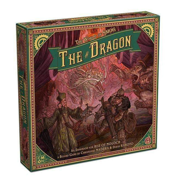 World of SMOG: Rise of Moloch - The Dragon (Kickstarter Special) Kickstarter Board Game Expansion CMON Limited