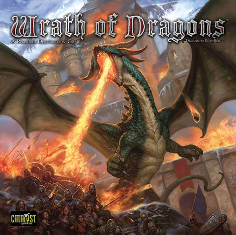 Wrath of Dragons Retail Board Game Catalyst Game Labs 0856232002486 KS000698