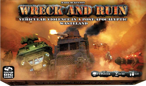 Wreck and Ruin: Warrior Pledge (Kickstarter Pre-Order Special) Kickstarter Board Game The Game Steward