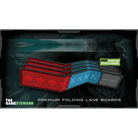 Xenoshyft: Dreadmire Premium Folding Lane Boards (Kickstarter Special) Kickstarter Board Game Accessory CMON Limited KS000173E