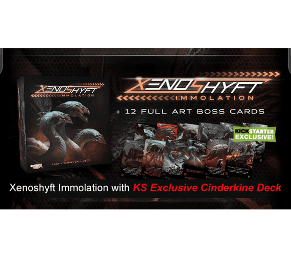 Xenoshyft: Immolation with Exclusive Cinderkin Deck (Kickstarter Special) Kickstarter Board Game CMON Limited 0889696002938 KS000173C