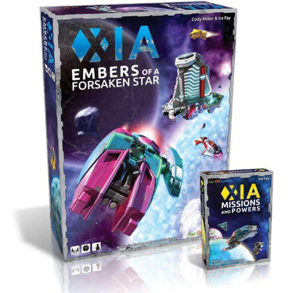 Xia: Embers of a Forsaken Star plus Missions and Powers Expansion Pack Bundle (Kickstarter Pre-Order Special) Kickstarter Board Game Cryptozoic Entertainment