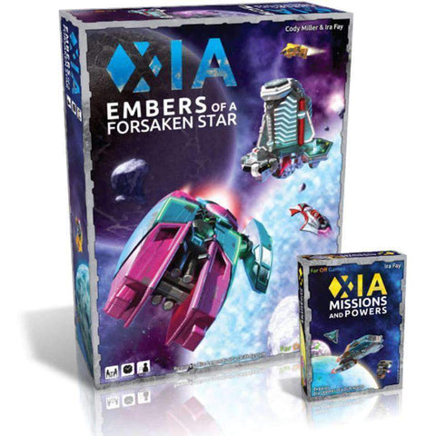 Xia: Embers of a Forsaken Star plus Missions and Powers Expansion Pack Bundle (Kickstarter Special) Kickstarter Board Game Cryptozoic Entertainment 0019962572937 KS000080D
